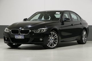 2018 BMW 330i F30 LCI MY18 M Sport Black 8 Speed Automatic Sedan.