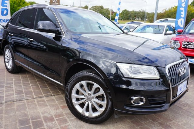 Used Audi Q5 8R MY15 TFSI Tiptronic Quattro, 2015 Audi Q5 8R MY15 TFSI Tiptronic Quattro Black 8 Speed Sports Automatic Wagon