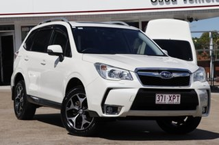 2013 Subaru Forester S4 MY13 XT Lineartronic AWD Premium White 8 Speed Constant Variable Wagon.