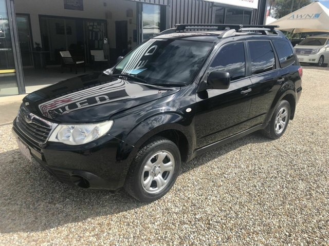 Used Subaru Forester S3 MY09 X, 2009 Subaru Forester S3 MY09 X Black 4 Speed Automatic Wagon