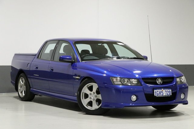 Used Holden Crewman VZ MY06 Upgrade SS, 2006 Holden Crewman VZ MY06 Upgrade SS Blue 6 Speed Manual Crew Cab Utility