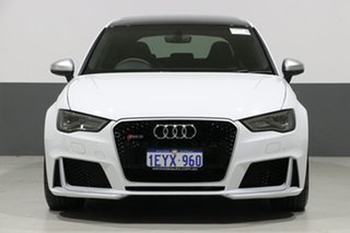 2016 Audi RS 3 8V Sportback Quattro White 7 Speed Auto Dual Clutch Hatchback.