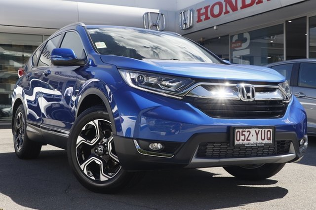 Demo Honda CR-V RW MY19 VTi-S FWD, 2018 Honda CR-V RW MY19 VTi-S FWD Blue 1 Speed Constant Variable Wagon