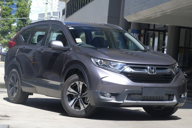 Demo Honda CR-V RW MY19 VTi-L FWD, 2018 Honda CR-V RW MY19 VTi-L FWD Modern Steel 1 Speed Constant Variable Wagon