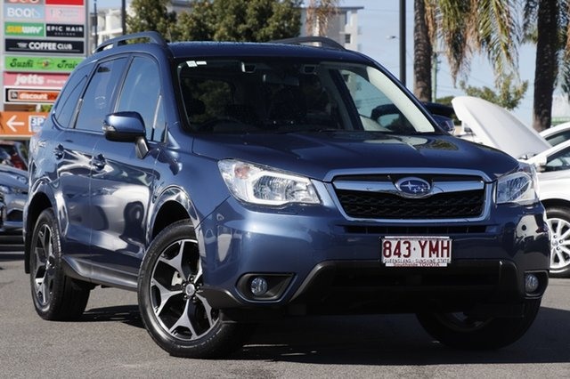 Used Subaru Forester S4 MY13 2.5i-S Lineartronic AWD, 2013 Subaru Forester S4 MY13 2.5i-S Lineartronic AWD Marine Blue Pearl/gr 6 Speed Constant Variable