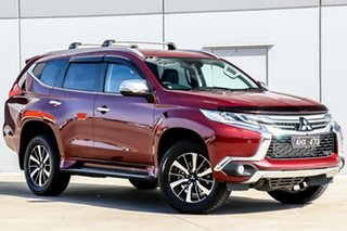 2016 Mitsubishi Pajero Sport QE MY16 Exceed Terra Rossa 8 Speed Sports Automatic Wagon.