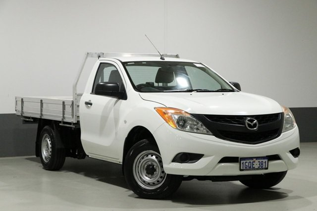 Used Mazda BT-50  XT (4x2), 2012 Mazda BT-50 XT (4x2) White 6 Speed Manual Cab Chassis