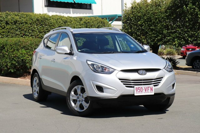 Used Hyundai ix35 LM3 MY14 Active, 2014 Hyundai ix35 LM3 MY14 Active Silver 6 Speed Sports Automatic Wagon