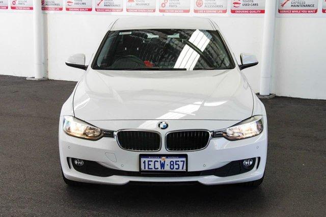 Used BMW 320d F30 , 2013 BMW 320d F30 White 8 Speed Automatic Sedan