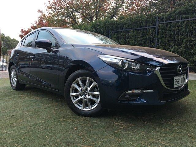 Used Mazda 3 BN5478 Maxx SKYACTIV-Drive, 2017 Mazda 3 BN5478 Maxx SKYACTIV-Drive Blue 6 Speed Sports Automatic Hatchback