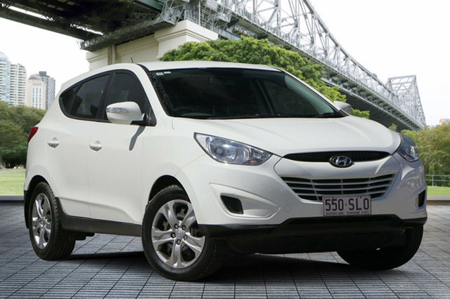 Used Hyundai ix35 LM MY12 Active, 2012 Hyundai ix35 LM MY12 Active White 6 Speed Sports Automatic Wagon