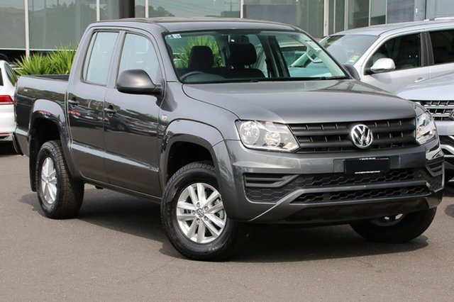 Demo Volkswagen Amarok 2H MY18 TDI420 4MOTION Perm Core, 2018 Volkswagen Amarok 2H MY18 TDI420 4MOTION Perm Core Grey 8 Speed Automatic Utility