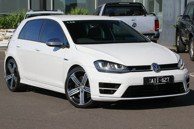 Used Volkswagen Golf VII MY16 R DSG 4MOTION, 2016 Volkswagen Golf VII MY16 R DSG 4MOTION White 6 Speed Sports Automatic Dual Clutch Hatchback