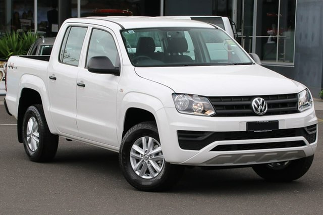 Demo Volkswagen Amarok 2H MY18 TDI420 4MOTION Perm Core, 2018 Volkswagen Amarok 2H MY18 TDI420 4MOTION Perm Core White 8 Speed Automatic Utility