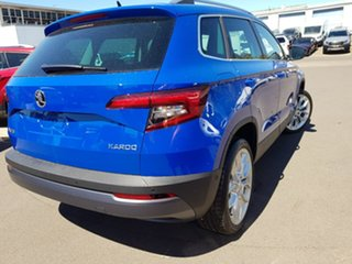 2018 Skoda Karoq NU MY18 110TSI FWD Blue 6 Speed Manual Wagon.