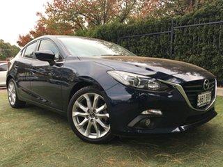 2014 Mazda 3 BM5238 SP25 SKYACTIV-Drive Blue 6 Speed Sports Automatic Sedan.