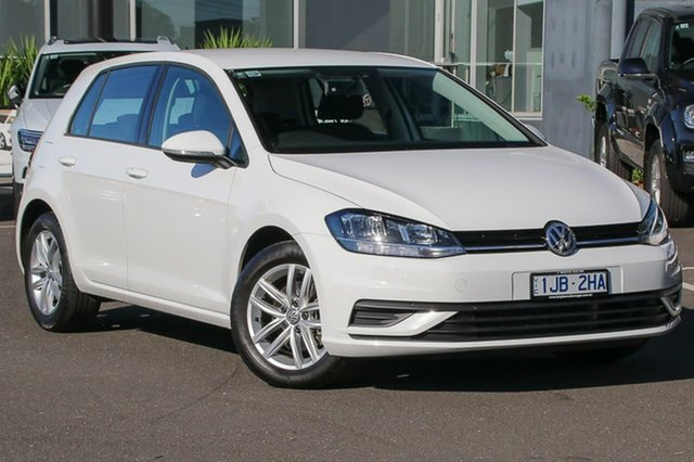 Used Volkswagen Golf 7.5 MY18 110TSI, 2017 Volkswagen Golf 7.5 MY18 110TSI White 6 Speed Manual Hatchback