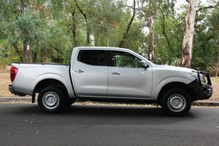 2015 Nissan Navara D23 RX Silver 6 Speed Manual Cab Chassis