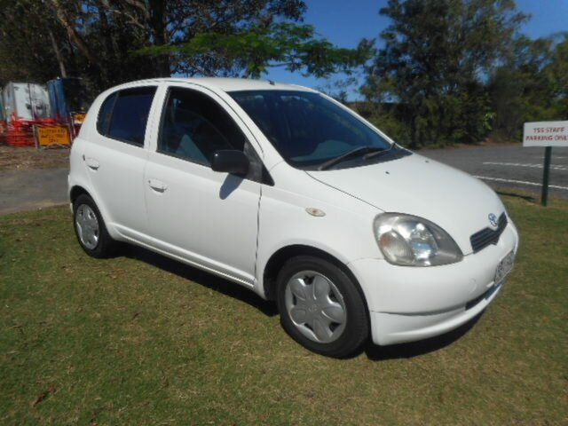 Used Toyota Echo NCP10R Southport, 2003 Toyota Echo NCP10R 4 Speed Automatic Hatchback