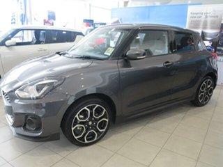 2018 Suzuki Swift MY18 Sport Grey 6 Speed Automatic Hatchback.