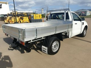 2013 Ford Ranger PX XL 4x2 White 5 Speed Manual Cab Chassis.