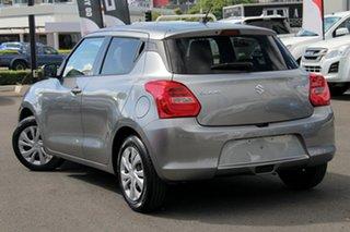 2019 Suzuki Swift AZ GL+ Silver 1 Speed Constant Variable Hatchback.