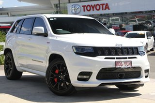 2017 Jeep Grand Cherokee WK MY17 SRT White 8 Speed Automatic Wagon.
