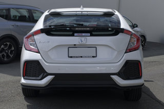 2018 Honda Civic 10th Gen MY18 VTi-S White Orchid 1 Speed Constant Variable Hatchback