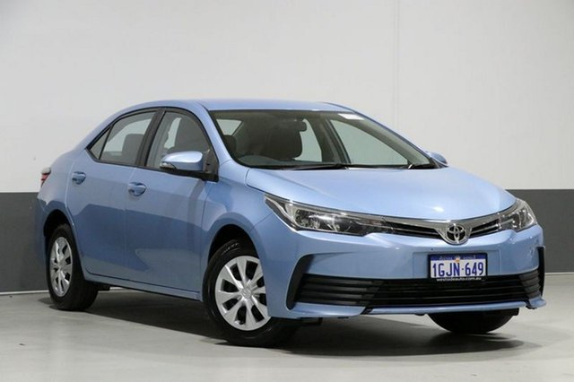 Used Toyota Corolla ZRE172R Ascent, 2017 Toyota Corolla ZRE172R Ascent Blue 7 Speed CVT Auto Sequential Sedan