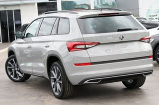 2021 Skoda Kodiaq NS MY21 132TSI DSG Sportline Steel Grey 7 Speed Sports Automatic Dual Clutch Wagon.