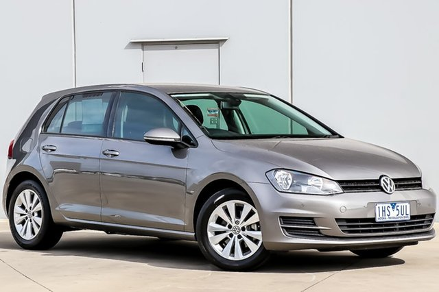 Used Volkswagen Golf VII 90TSI DSG Comfortline, 2013 Volkswagen Golf VII 90TSI DSG Comfortline Limestone Grey 7 Speed Sports Automatic Dual Clutch