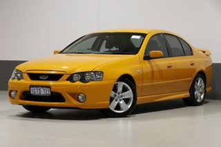 2007 Ford Falcon BF MkII XR6 Orange 6 Speed Manual Sedan.