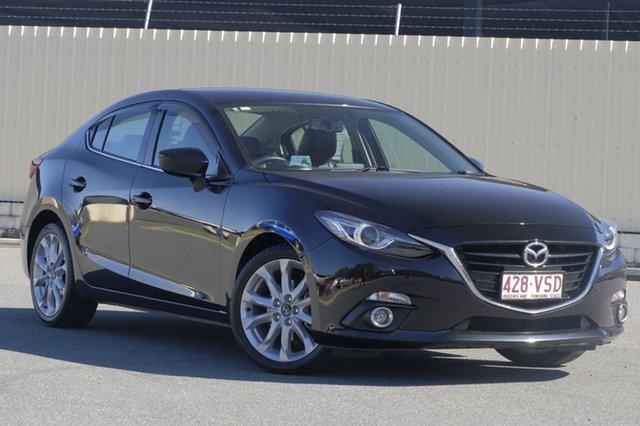 Used Mazda 3 BM5238 SP25 SKYACTIV-Drive GT, 2015 Mazda 3 BM5238 SP25 SKYACTIV-Drive GT Jet Black 6 Speed Sports Automatic Sedan