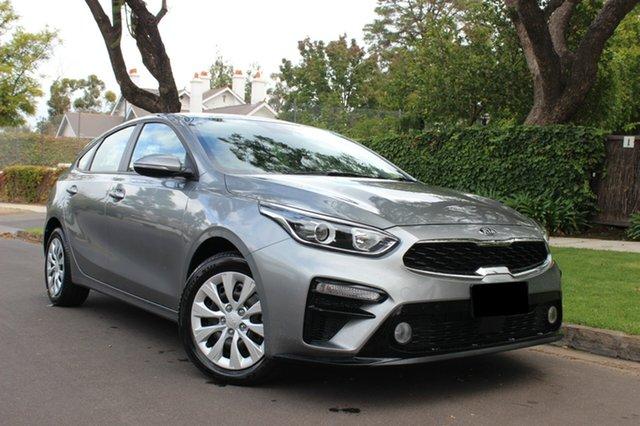 Demo Kia Cerato BD MY19 S, 2018 Kia Cerato BD MY19 S Steel Grey 6 Speed Sports Automatic Hatchback