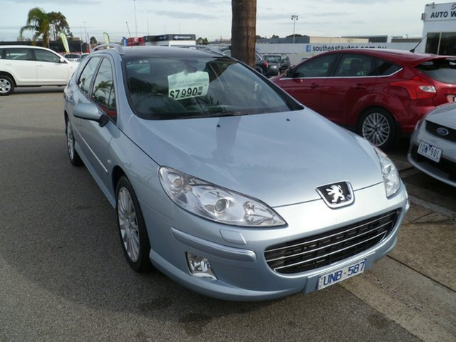 Used Peugeot 407  SV Touring HDi, 2006 Peugeot 407 SV Touring HDi Grey 6 Speed Sports Automatic Wagon