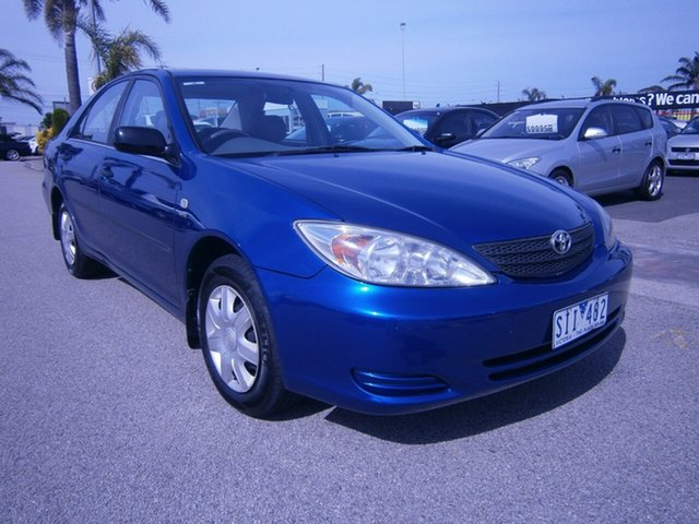Used Toyota Camry ACV36R Altise, 2003 Toyota Camry ACV36R Altise Blue 4 Speed Automatic Sedan