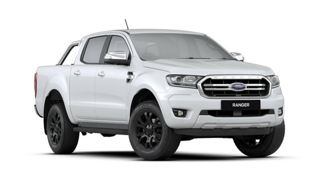 New Ford Ranger PX MkIII 2019.00MY XLT Pick-up Double Cab, 2019 Ford Ranger PX MkIII 2019.00MY XLT Pick-up Double Cab Arctic White 10 Speed Sports Automatic