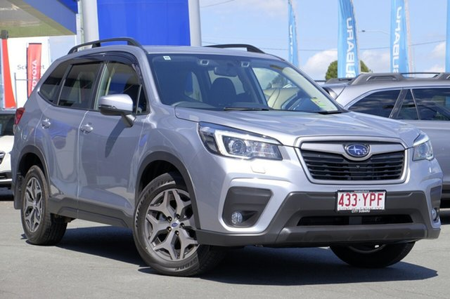 Demo Subaru Forester S5 MY19 2.5i-L CVT AWD, 2018 Subaru Forester S5 MY19 2.5i-L CVT AWD Ice Silver 7 Speed Constant Variable Wagon
