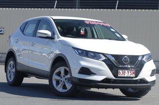 2018 Nissan Qashqai J11 Series 2 ST X-tronic Ivory Pearl 1 Speed Constant Variable Wagon.