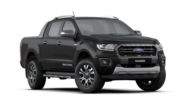 New Ford Ranger PX MkIII 2019.00MY Wildtrak Pick-up Double Cab, 2019 Ford Ranger PX MkIII 2019.00MY Wildtrak Pick-up Double Cab Shadow Black 6 Speed