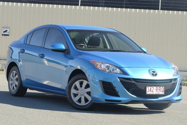 Used Mazda 3 BL10F1 MY10 Neo, 2011 Mazda 3 BL10F1 MY10 Neo Blue 6 Speed Manual Sedan