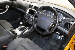 2007 Ford Falcon BF MkII XR6 Orange 6 Speed Manual Sedan