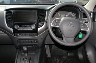 2018 Mitsubishi Triton MQ MY18 GLX+ Double Cab Silver 5 Speed Sports Automatic Utility