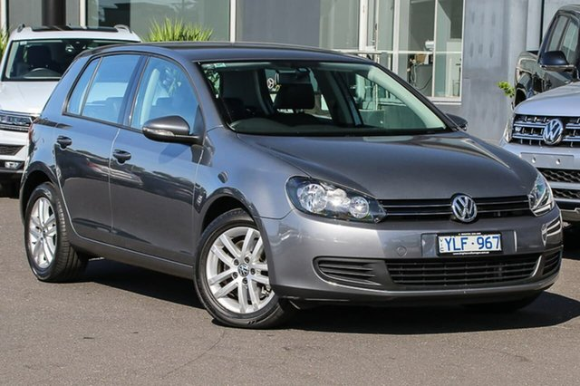 Used Volkswagen Golf VI MY11 118TSI DSG Comfortline, 2011 Volkswagen Golf VI MY11 118TSI DSG Comfortline Grey 7 Speed Sports Automatic Dual Clutch