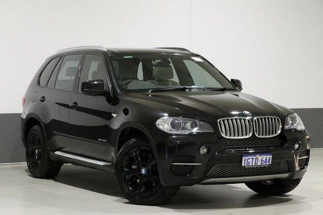 Used BMW X5 E70 MY12 Upgrade xDrive 40d Sport, 2013 BMW X5 E70 MY12 Upgrade xDrive 40d Sport Black 8 Speed Automatic Sequential Wagon