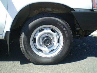 2013 Nissan Navara D22 S5 DX 4x2 Polar White 5 Speed Manual Cab Chassis.