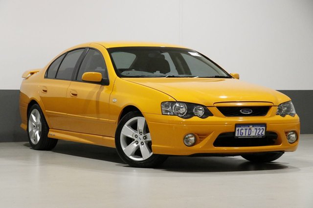 Used Ford Falcon BF MkII XR6, 2007 Ford Falcon BF MkII XR6 Orange 6 Speed Manual Sedan