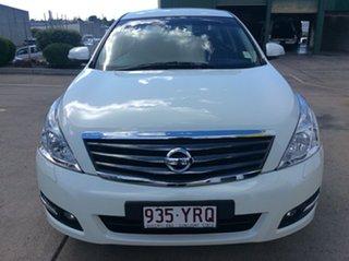 2010 Nissan Maxima J32 350 X-tronic ST-S White 6 Speed Constant Variable Sedan