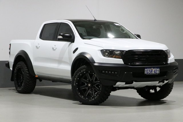 Used Ford Ranger PX MkII MY18 XLS 3.2 (4x4), 2018 Ford Ranger PX MkII MY18 XLS 3.2 (4x4) White 6 Speed Automatic Dual Cab Utility
