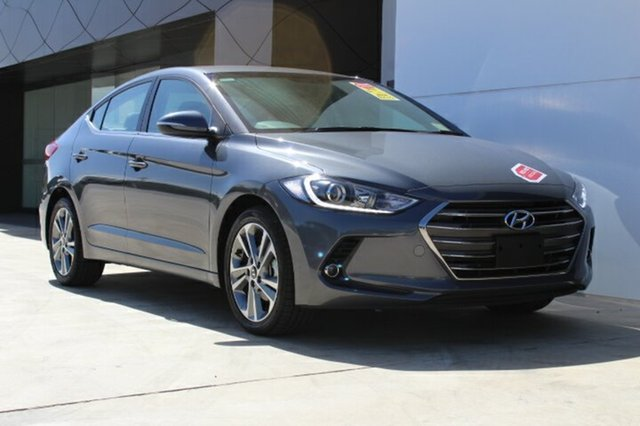 New Hyundai Elantra AD MY18 Elite, 2018 Hyundai Elantra AD MY18 Elite Iron Gray 6 Speed Automatic Sedan